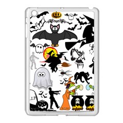 Halloween Mashup Apple Ipad Mini Case (white) by StuffOrSomething