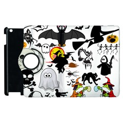 Halloween Mashup Apple Ipad 3/4 Flip 360 Case by StuffOrSomething