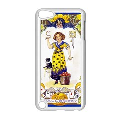 Vintage Halloween Postcard Apple iPod Touch 5 Case (White) by EndlessVintage