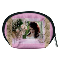 Pink Treasure Accessory Pouch (medium) By Deborah   Accessory Pouch (medium)   4rbtgpjyjlhf   Www Artscow Com Back