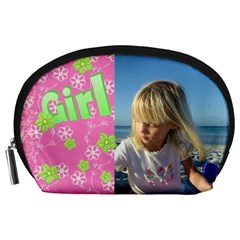 Girl Accessory Pouch (large) By Deborah   Accessory Pouch (large)   Ifvgcre47wed   Www Artscow Com Front