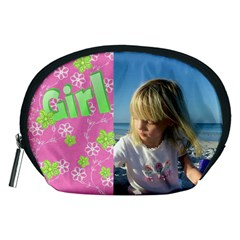 Girl Accessory Pouch (medium) By Deborah   Accessory Pouch (medium)   0g34adhvywys   Www Artscow Com Front