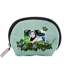 Pouch (s): Flower Power By Jennyl   Accessory Pouch (small)   J2z3afxdib2r   Www Artscow Com Front