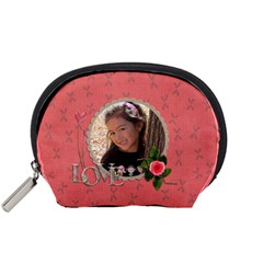 Pouch (s): Love By Jennyl   Accessory Pouch (small)   7c6clqp4e2dq   Www Artscow Com Front