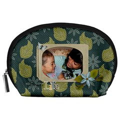 Pouch (l) : Enjoy Life By Jennyl   Accessory Pouch (large)   1rkmndn9u6ct   Www Artscow Com Front