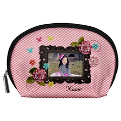 Pouch (l) : Sweet Smiles By Jennyl   Accessory Pouch (large)   Ausql01pf14y   Www Artscow Com Front