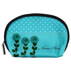 Pouch (l) : Aqua Dreams By Jennyl   Accessory Pouch (large)   Zh51f1rc51qa   Www Artscow Com Front