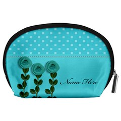 Pouch (l) : Aqua Dreams By Jennyl   Accessory Pouch (large)   Zh51f1rc51qa   Www Artscow Com Back