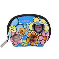 Little Petal Accessory Pouch (small) By Deborah   Accessory Pouch (small)   2u47v5diiu1c   Www Artscow Com Front