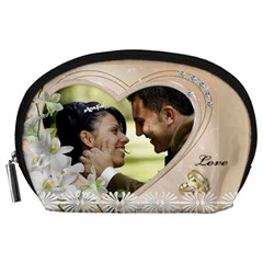 Love Accessory Pouch (large) By Deborah   Accessory Pouch (large)   Grk76o2735gf   Www Artscow Com Front