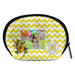 Pouch (m): Yellow Chevron By Jennyl   Accessory Pouch (medium)   R1k7y6qqy32e   Www Artscow Com Back