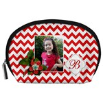 Pouch (L) : Red Chevron - Accessory Pouch (Large)