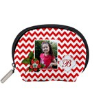 Pouch (S): Red Chevron - Accessory Pouch (Small)