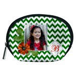 Pouch (M): Green Chevron - Accessory Pouch (Medium)