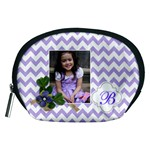 Pouch (M): Violet Chevron - Accessory Pouch (Medium)