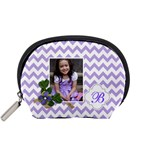 Pouch (S): Violet Chevron - Accessory Pouch (Small)