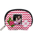 Pouch (S): Pink Chevron - Accessory Pouch (Small)