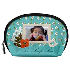 Pouch (l) : Live By Jennyl   Accessory Pouch (large)   5lg9yb5q3uvp   Www Artscow Com Front