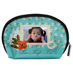 Pouch (l) : Live By Jennyl   Accessory Pouch (large)   5lg9yb5q3uvp   Www Artscow Com Back