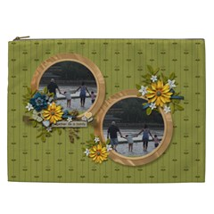 Cosmetic Bag (xxl)   Together As Family By Jennyl   Cosmetic Bag (xxl)   G9ebfjehf0n9   Www Artscow Com Front