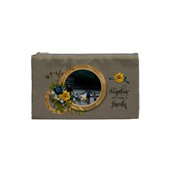 Cosmetic Bag (s)   Together By Jennyl   Cosmetic Bag (small)   4wabirr9f1tr   Www Artscow Com Front