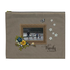 Cosmetic Bag (xl)   Family Is Forever By Jennyl   Cosmetic Bag (xl)   E9m9nwqsohwf   Www Artscow Com Front