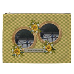 Cosmetic Bag (xxl)   Love Of Family By Jennyl   Cosmetic Bag (xxl)   Kprte75jmr7r   Www Artscow Com Front