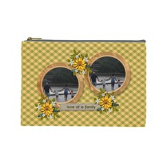 Cosmetic Bag (large)   Love Of Family By Jennyl   Cosmetic Bag (large)   Iqdown778odg   Www Artscow Com Front
