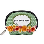 Dots and Flowers Pouch S - Accessory Pouch (Small)
