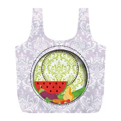 Fruits And Vegetables Recycle Bag L By Zornitza   Full Print Recycle Bag (l)   Qn0ejz9kv94m   Www Artscow Com Front
