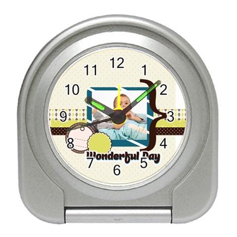 Kids By Kids   Travel Alarm Clock   Fmmnbnk4cfv9   Www Artscow Com Front