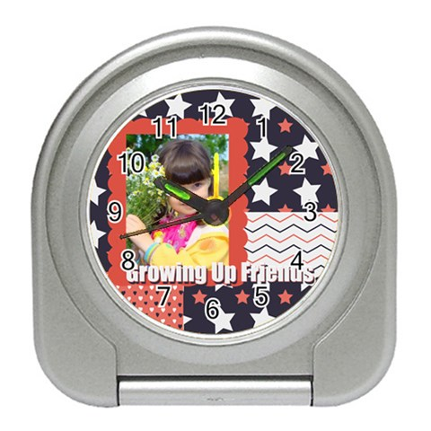 Kids By Kids   Travel Alarm Clock   Inp1n93gafxl   Www Artscow Com Front