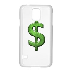 Grunge Style Money Sign Symbol Illustration Samsung Galaxy S5 Case (white) by dflcprints