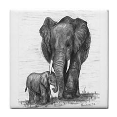 Elephant Face Towel
