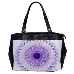 Mandala Oversize Office Handbag (one Side) by Siebenhuehner
