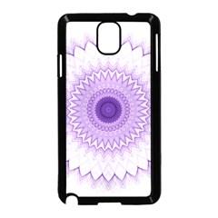 Mandala Samsung Galaxy Note 3 Neo Hardshell Case (black) by Siebenhuehner