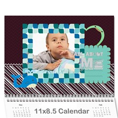 Kids, Child By Kids   Wall Calendar 11  X 8 5  (12 Months)   Gzwgqv4begie   Www Artscow Com Cover
