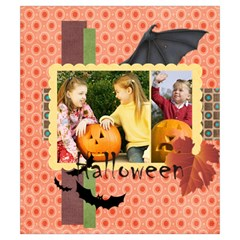 Halloween By Helloween   Drawstring Pouch (small)   O54m13a1m2g0   Www Artscow Com Back