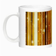 Luxury Party Dreams Futuristic Abstract Design Glow In The Dark Mug by dflcprints