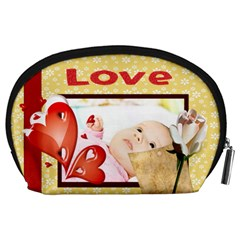 Love By Wood Johnson   Accessory Pouch (large)   5c1b49k84jc9   Www Artscow Com Back
