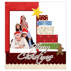 Merry Christmas By Betty   Drawstring Pouch (large)   8u95mw9anfj3   Www Artscow Com Front