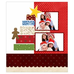 Merry Christmas By Betty   Drawstring Pouch (small)   Mg0tt90cnl6n   Www Artscow Com Back