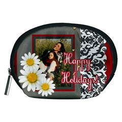 Happy Holiday By Betty   Accessory Pouch (medium)   Fup18jifqlyv   Www Artscow Com Front
