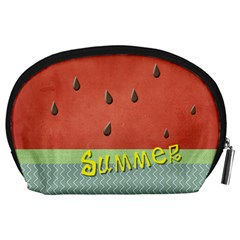 Watermelon By Arts    Accessory Pouch (large)   Pfyz8lsxfqux   Www Artscow Com Back