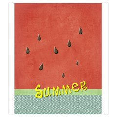 Watermelon By Arts    Drawstring Pouch (large)   589v10ywyjm9   Www Artscow Com Front