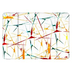 Colorful Splatter Abstract Shapes Samsung Galaxy Tab 8 9  P7300 Flip Case by dflcprints