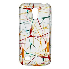 Colorful Splatter Abstract Shapes Samsung Galaxy S4 Mini (gt I9190) Hardshell Case  by dflcprints