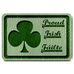 Leather-Look Irish Clover Large Doormat