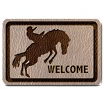 Leather-Look Rodeo Large Doormat
