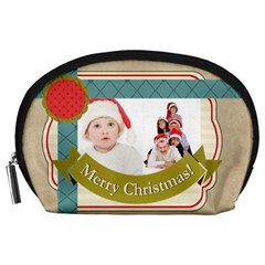 Happy Holiday By Betty   Accessory Pouch (large)   Dfey59jgegik   Www Artscow Com Front